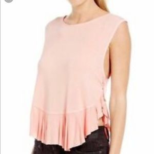 Free people ballet pink small